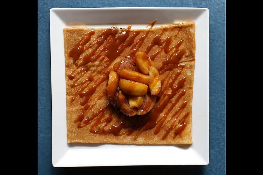 French crepes.-- ST PHOTO: ONG WEE JIN