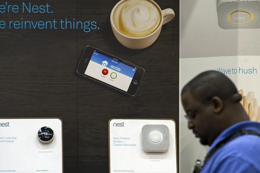 Google's Nest Labs said on Friday it was buying video monitoring startup Dropcam for a reported US$555 million (S$694 million) in cash. -- PHOTO: BLOOMBERG