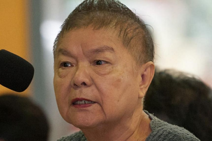 The CPF Board said it is in contact with Ms Irene Yap (above) to help her withdraw her Retirement Account savings if she wants to.