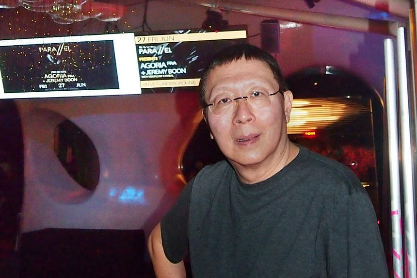 The Singapore Flyer, South Beach and Old Kallang Airport are some areas Zouk founder Lincoln Cheng (above) considered moving the Jiak Kim Street club to. Last Friday, the club launched an online appeal for a lease extension. -- PHOTOS: LIM YAOHUI FOR