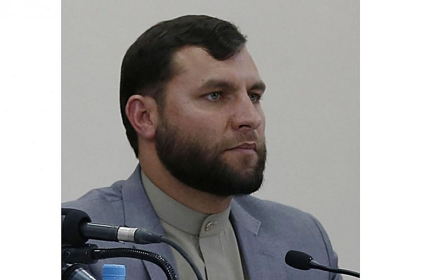 Mr Zia-ul-Haq Amarkhail, the head of the Secretariat of the Independent Election Commission (IEC), looks on during a press conference in Kabul on June 23, 2014. Mr Amarkhail, who was accused of fraud, resigned on Monday, raising hopes of ending
