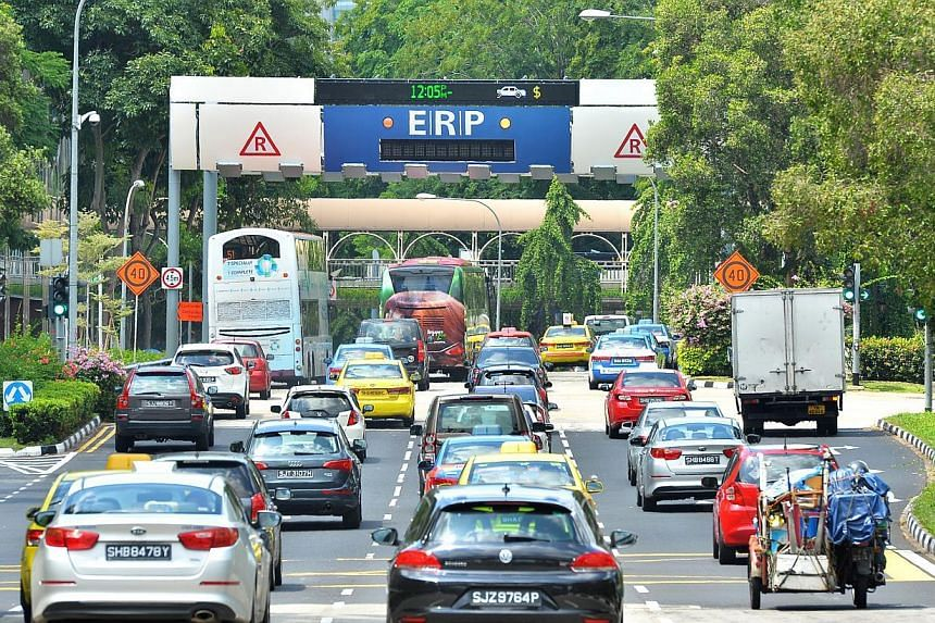 Singapore's move towards Euro 6 is yet another effort to reduce fine particulate matter in the air - a serious health hazard. -- ST PHOTO: LIM YAOHUI