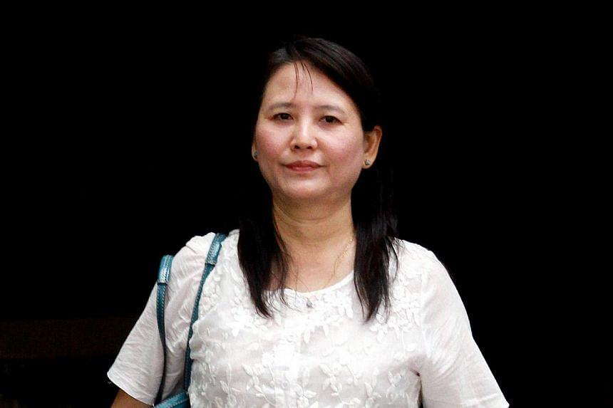 Dr Zhu Xiu Chun, also known as Dr Myint Myint Kyi, 48, a co-owner of Reves Clinic. -- ST PHOTO: LAU FOOK KONG