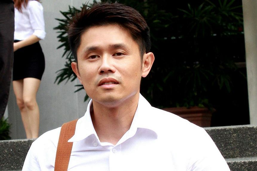 Dr Jim Wong, 34, a co-owner of Reves Clinic. -- ST PHOTO: LAU FOOK KONG