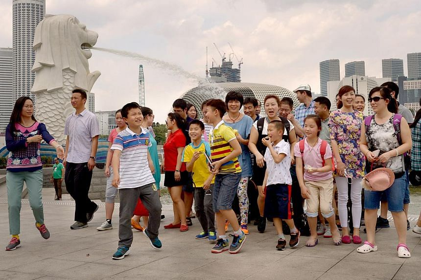 """While Chinese tourists were the biggest spenders in Singapore last year, overtaking the Indonesians, """"this may not be the case in 2014"""", said a spokesman for the Singapore Retailers Association"""
