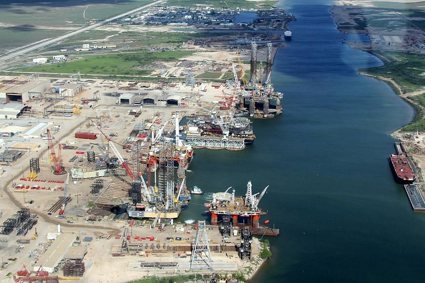 Established in 1990 in Brownsville, Texas, Keppel AmFELS is an extension of Keppel Offshore & Marine's near market near customer strategy and has grown to become the most well equipped offshore shipyard in the Gulf of Mexico.-- PHOTO: KEP
