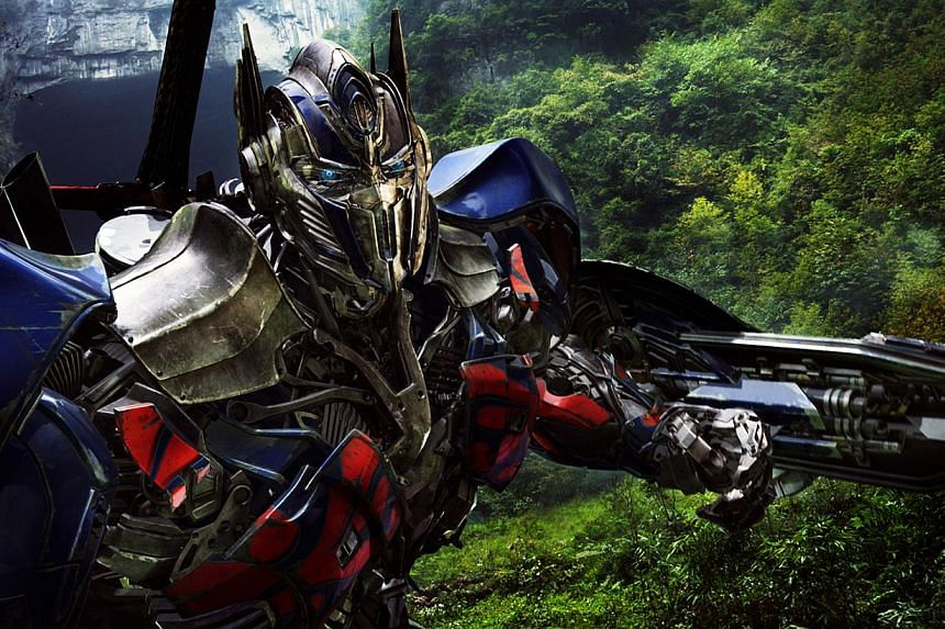 Cinema still from Transformers: Age Of Extinction. -- PHOTO: UIP