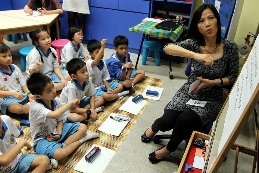 Singapore's 33,000-strong teaching force is among the youngest in the world - 36 years old compared with 43 on average worldwide - but they are well-trained before going into the classrooms, seek continual training and feel valued by society, accordi