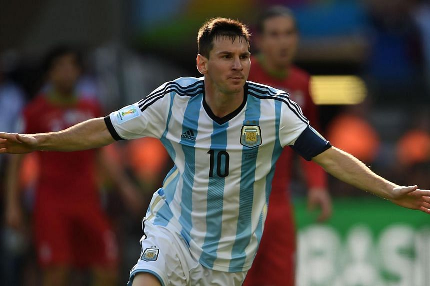 Lionel Messi turned 27 on Tuesday in the full spotlight of the World Cup, the Argentina superstar receiving birthday wishes from hordes of fans camped outside the team hotel. -- PHOTO: AFP