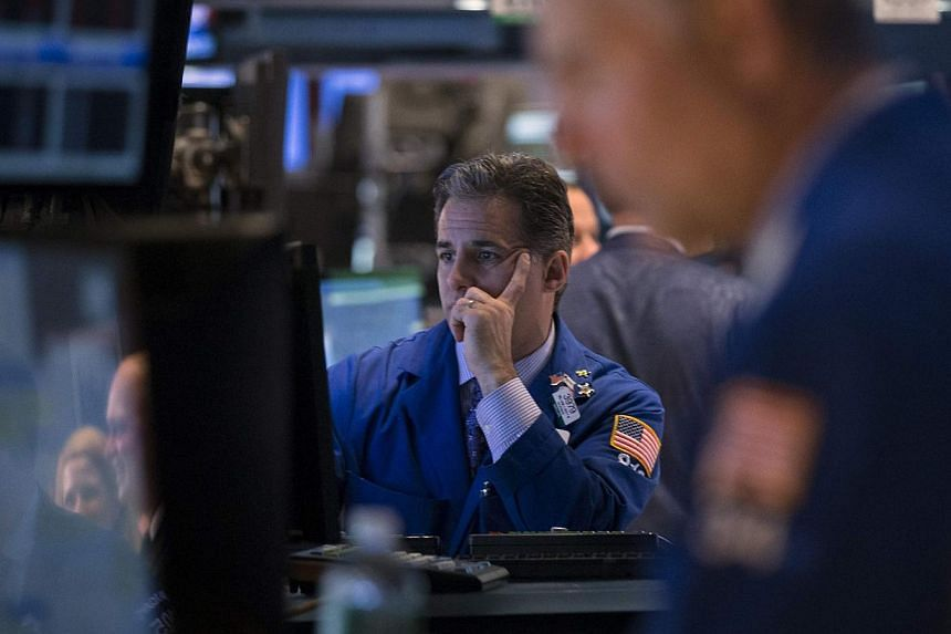 US stocks dropped on Tuesday despite solid economic data in a decline analysts attributed to profit taking and the ongoing Sunni insurgent attacks in Iraq. -- PHOTO: REUTERS