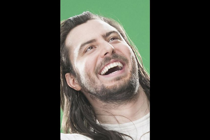 Andrew W.K. an American singer-songwriter, who is a guest star on the Animal Planet show Lil Bub Special Special.