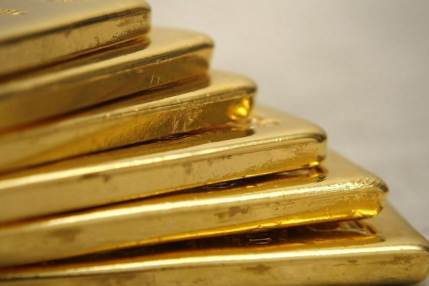 Singapore is hoping to get the Midas' touch in its ambitions to be a regional precious metals trading hub. -- PHOTO: ST FILE