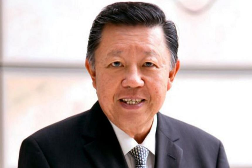 Michael Lim, chairman of Singapore Accountancy Commission (SAC), a statutory body under the Ministry of Finance, officially formed on April 1, 2013. Three professional accounting bodies have made moves to build closer ties. -- PHOTO: SINGAP