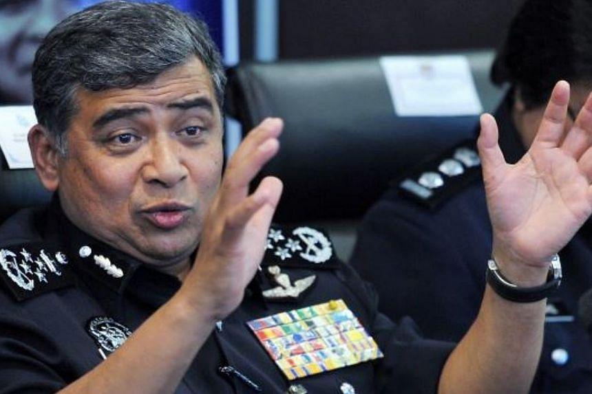 Inspector-General of Police Tan Sri Khalid Abu Bakar-- PHOTO: THE STAR/ASIA NEWS NETWORK