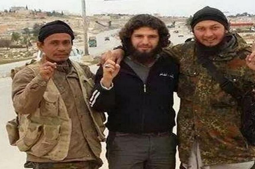 Ustaz Lofti Ariffin (left), a former leader of the opposition Parti Islam SeMalaysia (PAS), has been identified as one of the Malaysians who travelled to Syria to join a jihadist movement. -- PHOTO: THE STAR/ASIA NEWS NETWORK