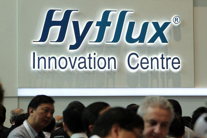 Hyflux Innovation Centre in Bendemeer Road.Hyflux has sold the building housing its global headquarters to Ascendas Real Estate Investment Trust (Reit) for $170 million. -- PHOTO: ST FILE