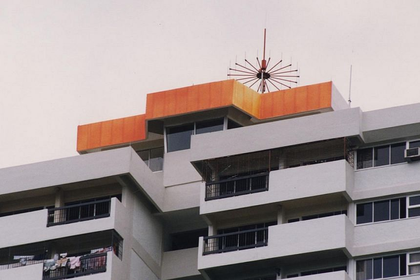 The Fullerton Lighthouse has been taken over by the Bedok lighthouse, now atop of Lagoon View condominium in Bedok. -- PHOTO: PSA