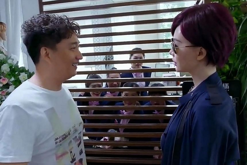 Chinese romcom Honey Bee Man is at its best when its eloquent lead Huang Lei (left) become love-struck and lost for words.