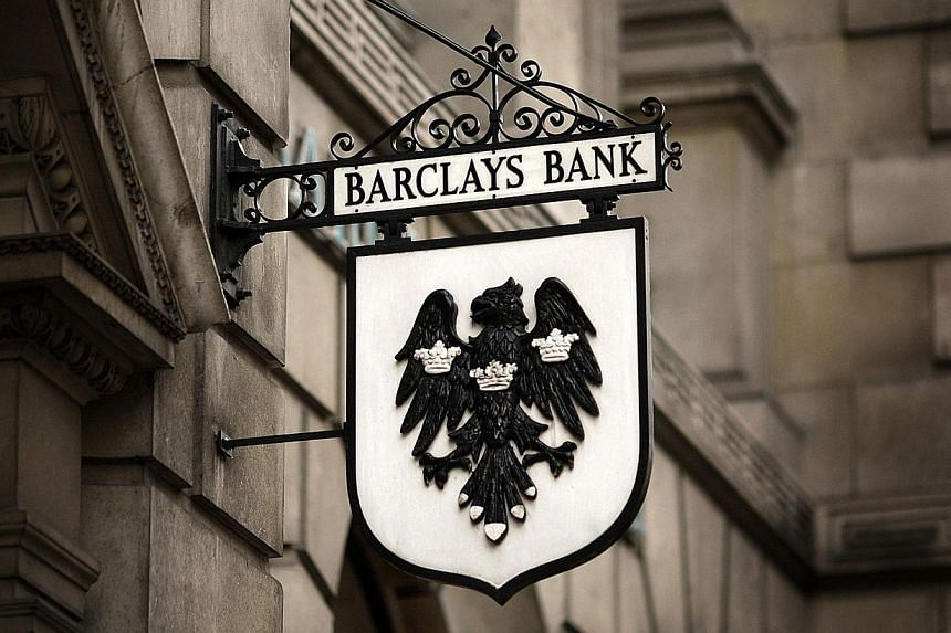 New York prosecutors sued British bank Barclays for fraud on Wednesday, saying it ran a dark pool securities trading operation to the benefit of predatory high-frequency traders. -- PHOTO: AFP