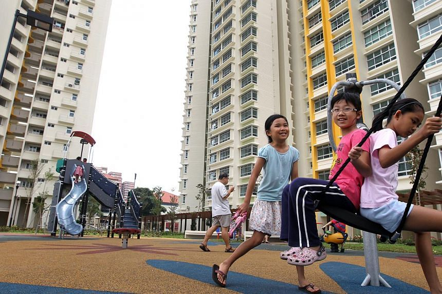 Five new housing projects are set to spring up in the Dawson estate in Queenstown by 2020. -- PHOTO: ZAOBAO FILE
