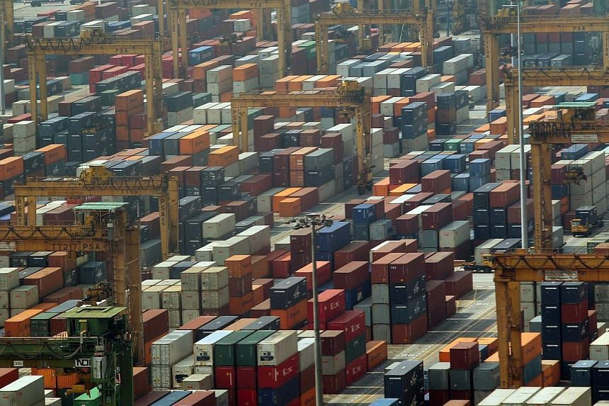 Singapore companies certified by Singapore Customs can now enjoy faster customs clearance for the goods they export to Hong Kong. -- ST PHOTO:LAU FOOK KONG