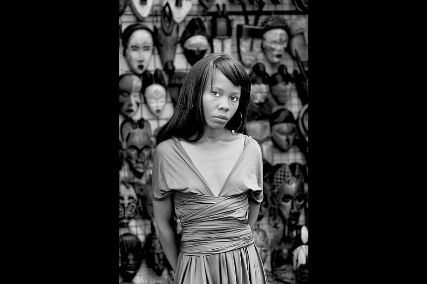 American dancer Richard Move channelling Martha Graham, an arresting portraiture exhibition (above) by South African photographer Zanele Muholi. -- PHOTO: ZANELE MUHOLI AND STEVENSON, CAPE TOWN & JOHANNESBURG