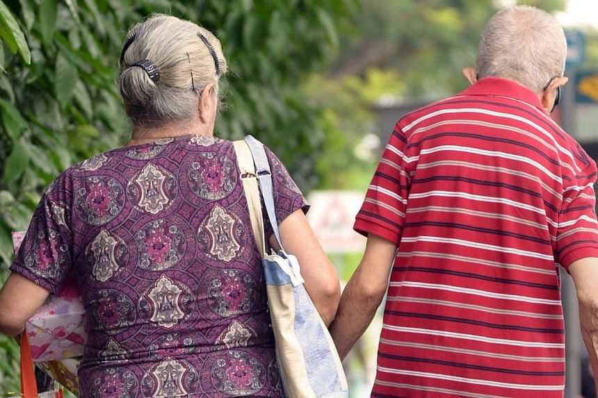 Palliative care services to ease suffering in people who are dying will be significantly ramped up over the next six years to cope with Singapore's rapidly ageing population. -- PHOTO: ST FILE