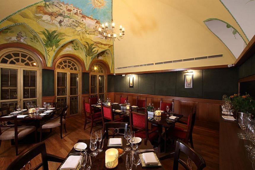 Saha Signature Indian Restaurant & Bar. -- PHOTO: SAHA