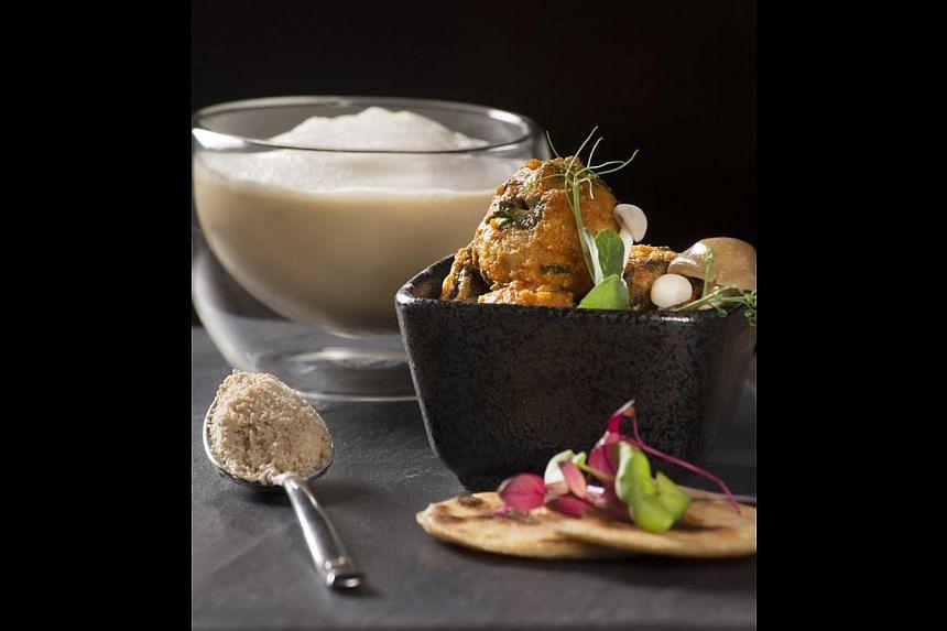 Tasting Of Mushroom. -- PHOTO: SAHA