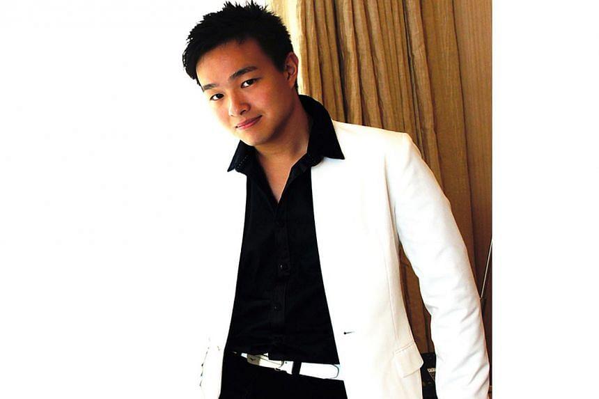 Singaporean pianist Shaun Choo. -- PHOTO: GERALD CHIN
