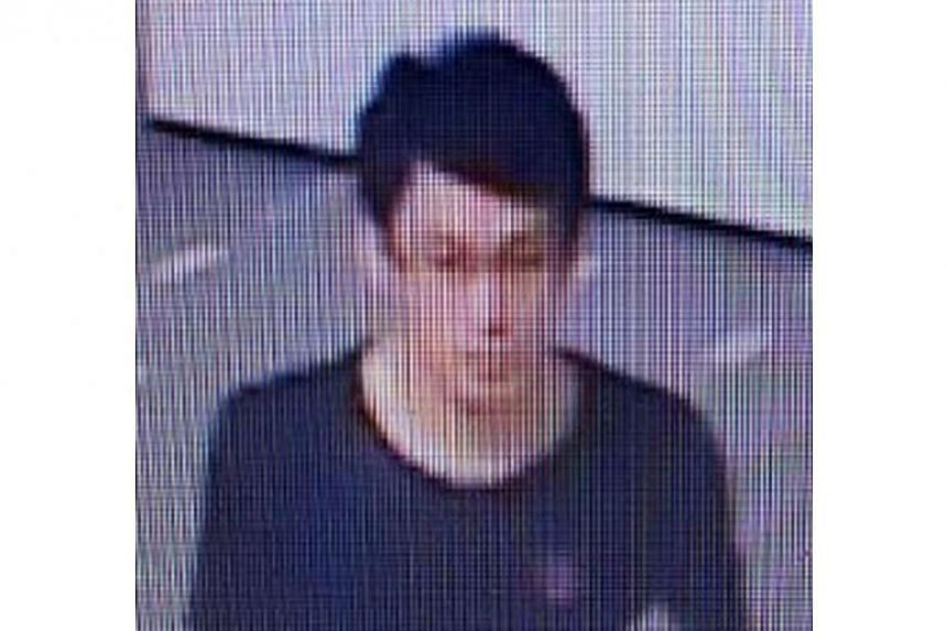 The police are looking for this man to assist with investigations into a case of loanshark harassment around Punggol Walk on June 19. -- PHOTO: SINGAPORE POLICE FORCE