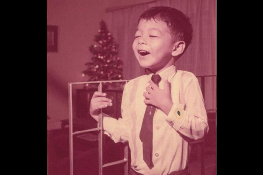 Leonard Soosay when he was five years old (above) and in York University in 1989. -- PHOTO: COURTESY OF LEONARD SOOSAY