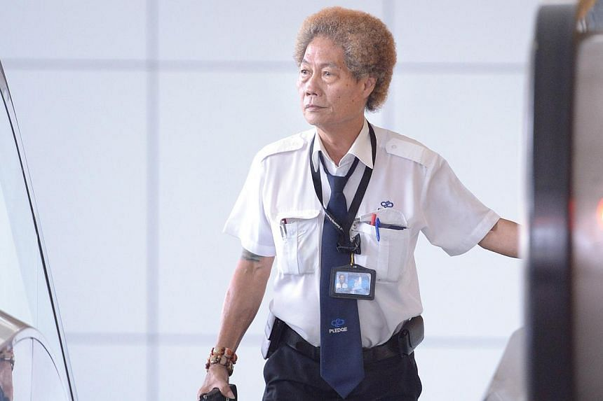 Mr Ng Chye Hock looks forward to the motivational boot camp. Last year, he attended WDA programmes to boost English skills and qualified as a security guard.