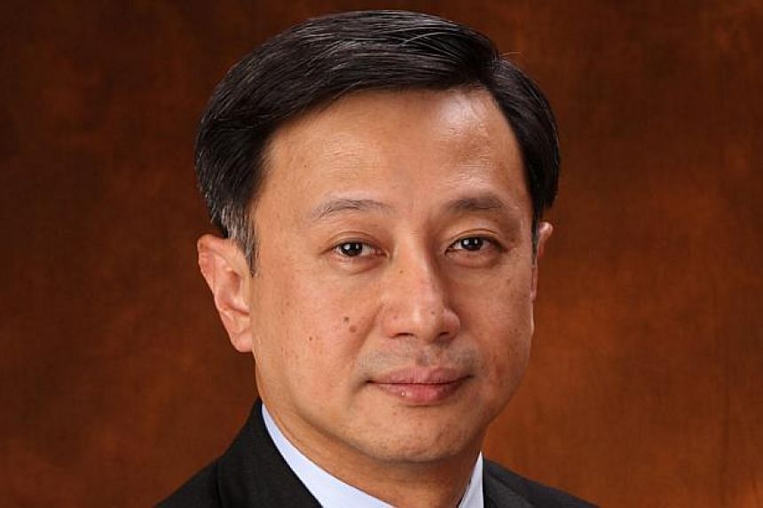 The Singapore Land Authority has appointed Mr Lim Sim Seng, the Singapore Country Head of DBS Bank, as its new chairman. -- PHOTO: DBS BANK
