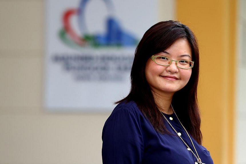 Worker's Party MP Lee Li Lian, 35, gave birth to a baby girl on Tuesday morning. -- ST PHOTO:BENJAMIN SEETOR