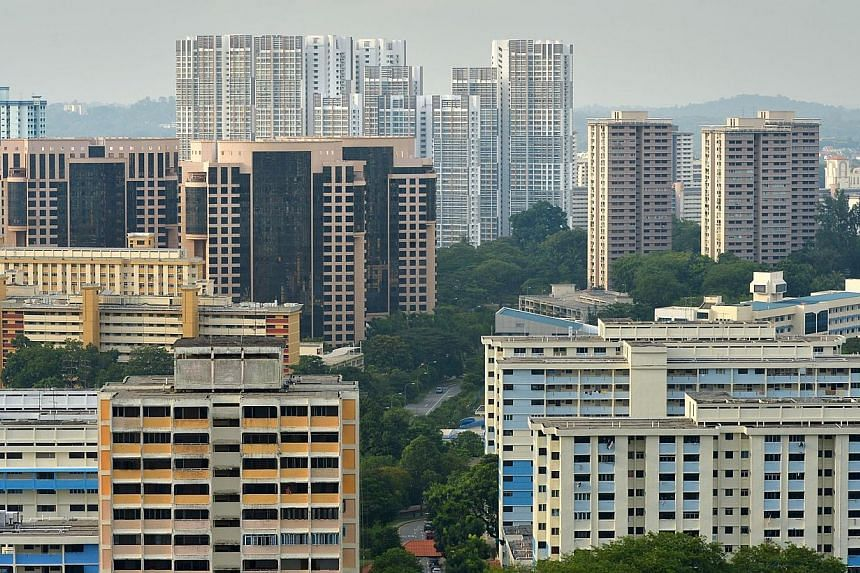 High rise HDB flats in the Commonwealth area - Queenstown estates.It isstill too early to roll back property cooling measures, according to the Ministry of National Development (MND) yesterday. -- PHOTO: ST FILE