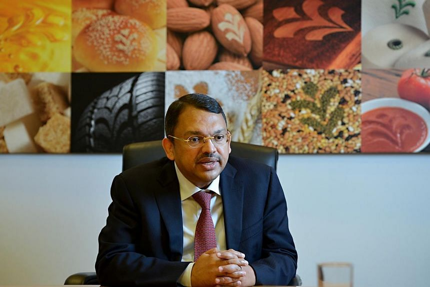 Mr Sunny Verghese, chief executive of Olam, at his office in Suntec on Nov 29, 2012.Agricultural firm Olam International wants to be play a more activist role in pushing for change in the most important global challenges in the next 25 years. -