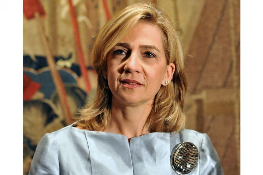 Spain's Princess Cristina attending a preview of the exhibition The Invention Of Glory: Alfonso V And The Pastrana Tapestries at the National Gallery of Art in Washington on Sept 13, 2011. Princess Cristina appealed July 2, 2014, against tax and mone