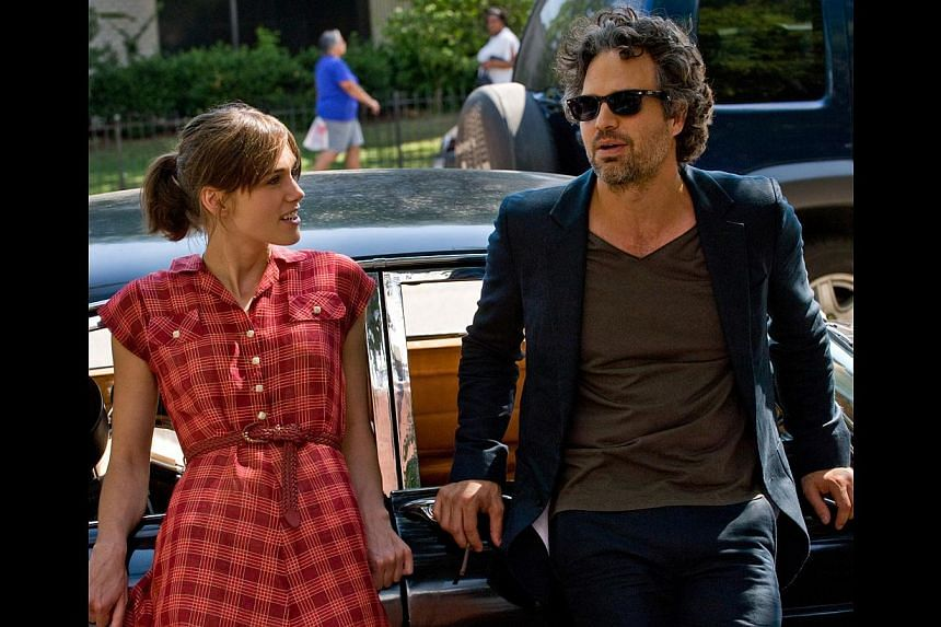 Keira Knightley and Mark Ruffalo (both above) share a connection but one is grateful the director does not shoehorn a romance into the film. Adam Levine, frontman of Maroon 5, makes his movie debut here. -- PHOTO: CATHAY-KERIS FILMS