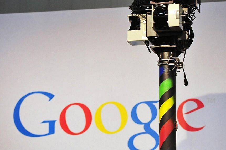 A photo taken on March 3, 2010 shows the camera of a street-view car, used to photograph whole streets, on the Google street view stand at the world's biggest high-tech fair, the CeBIT in the northern German city of Hanover. Google on Tuesday sa