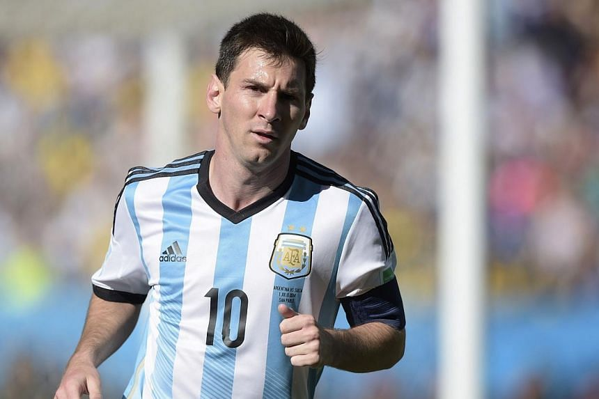 Argentina's forward and captain Lionel Messi is pictured during a Round of 16 football match between Argentina and Switzerland at Corinthians Arena in Sao Paulo during the 2014 FIFA World Cup on July 1, 2014.A documentary portraying Lionel Mess