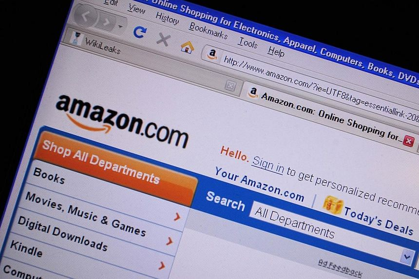 The European Union is looking to add online shopping giant Amazon to a wide-ranging probe into preferential tax deals offered to multinationals by three member states, a report said on Friday, July 4, 2014. -- PHOTO: AFP