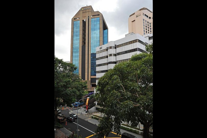 Shares of HPL, which owns four adjoining properties in the area - Forum The Shopping Mall and HPL House (both above) as well as the Hilton Singapore and Four Seasons hotels - shot up 9.5 per cent yesterday.