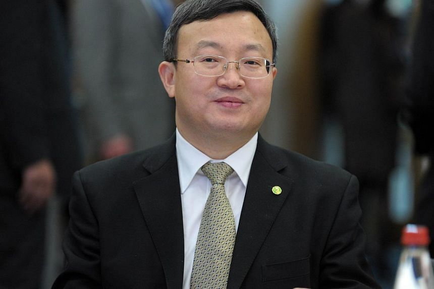 """Chinese Assistant Minister of Commerce Wang Shouwen rejected allegations against its trade policies as """"baseless"""", and insisted that China """"has one of the best track records of implementing WTO rulings"""". -- PHOTO: AFP"""