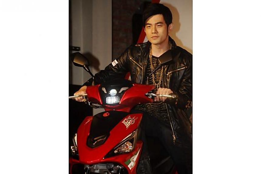 Jay Chou could be be a first-time dad by next year if things go his way. -- PHOTO:XINHUA