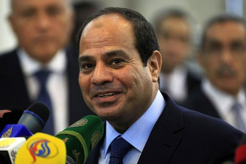 Egypt's President Abdel Fattah al-Sisi speaks during joint news conference with Sudan's President Omar al-Bashir (not seen) in Khartoum on June 27, 2014. Egypt has drastically raised fuel prices overnight to tackle a bloated subsidy system, in a