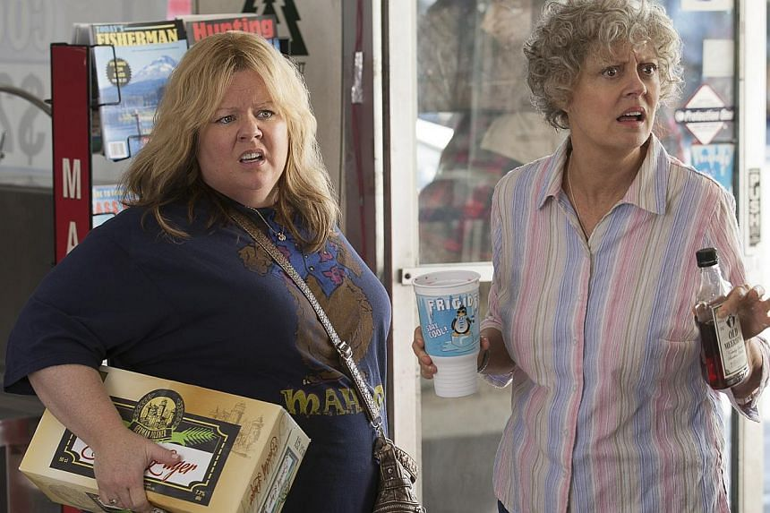 Susan Sarandon (right) plays her role with such aplomb, she outshines Melissa McCarthy (left). -- PHOTO: WARNER BROS