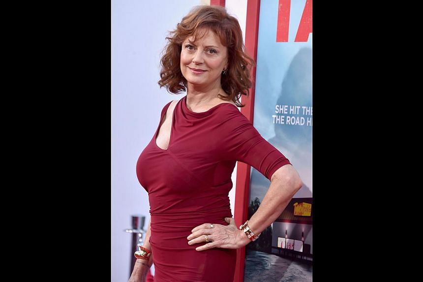 Susan Sarandon (above) on her frumpy character in Tammy. -- PHOTO: AGENCE FRANCE-PRESSE