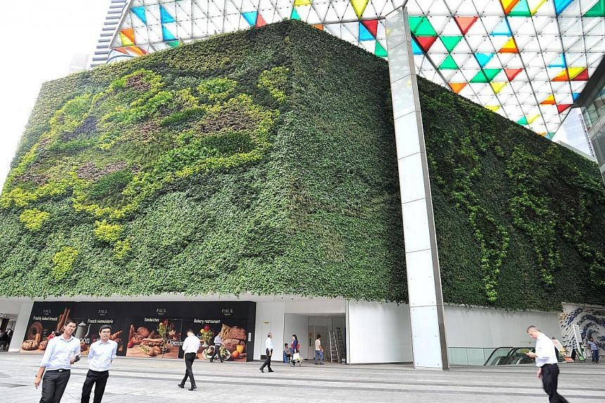 Going green could help Singapore-based property developer Keppel Land save as much as $30 million a year in energy costs, it said in a statement on Wednesday. -- ST PHOTO:LIM YAOHUI