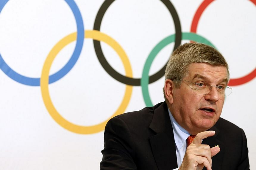 International Olympic Committee president Thomas Bach said on Wednesday, July 9, 2014, he was confident that Brazil's World Cup humiliation would not sour the mood ahead of the 2016 Rio Olympics, and that the city would be ready. -- PHOTO: REUTERS